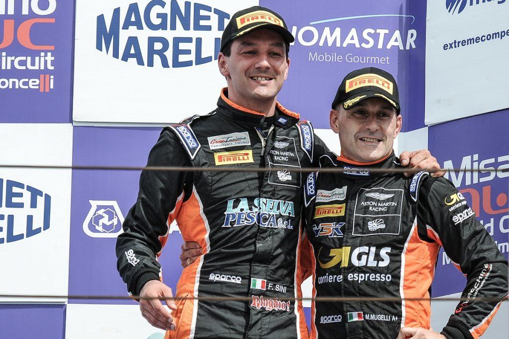 Second podium of the season for the Solaris Motorsport Aston Martin