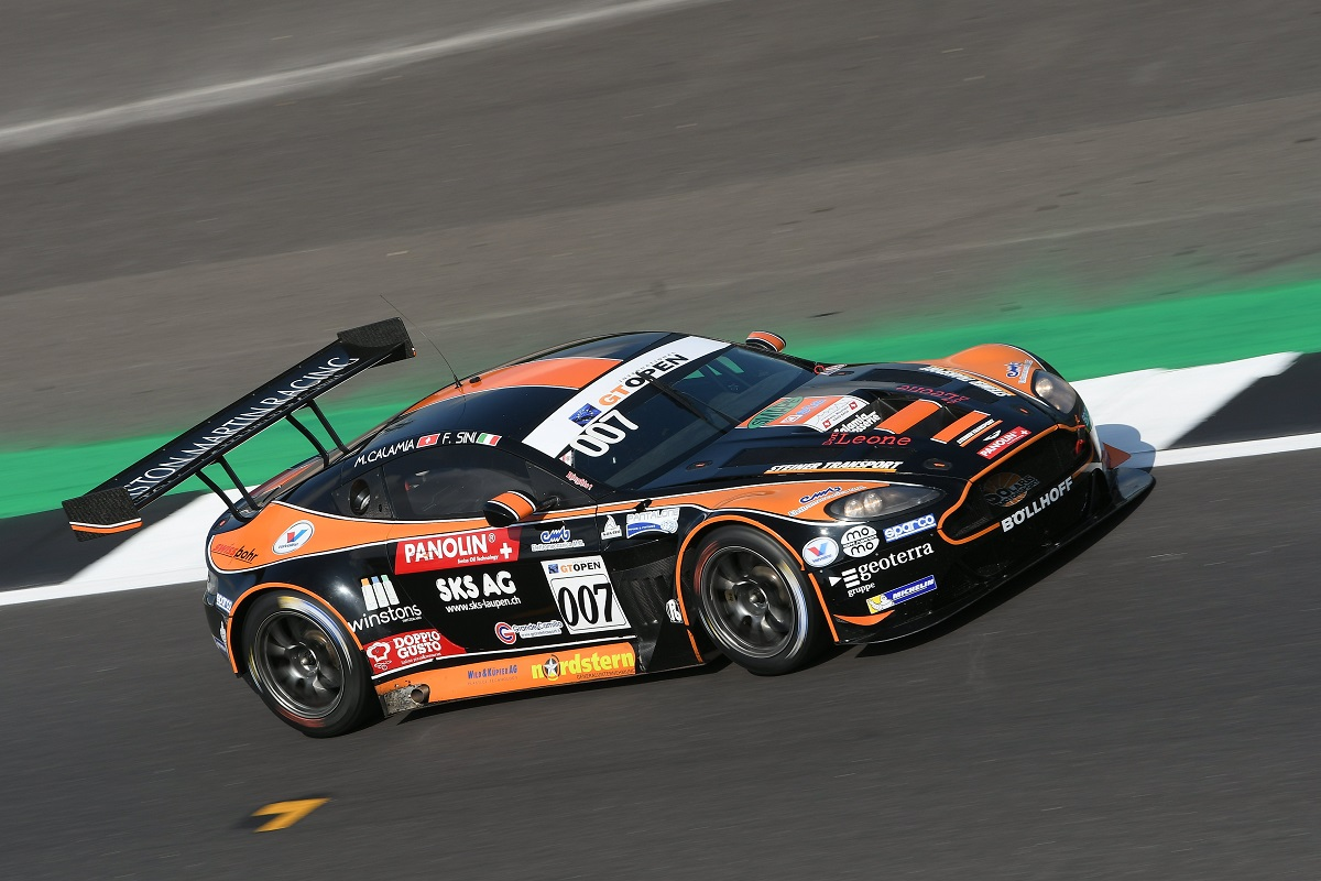 Solaris Motorsport takes points on its return to GT Open in