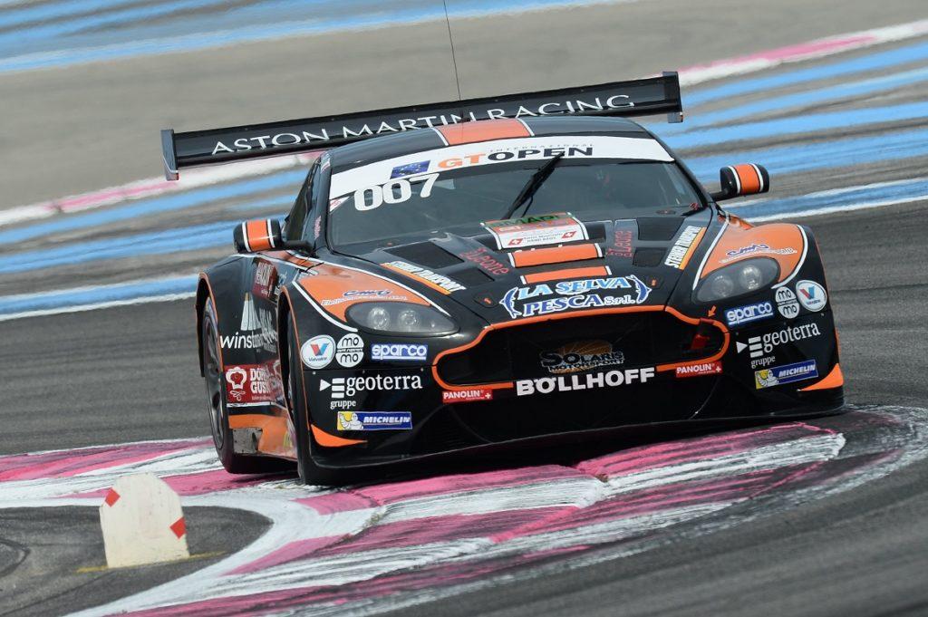 Solaris Motorsport Aston Martin scores points in GT Open Paul Ricard round