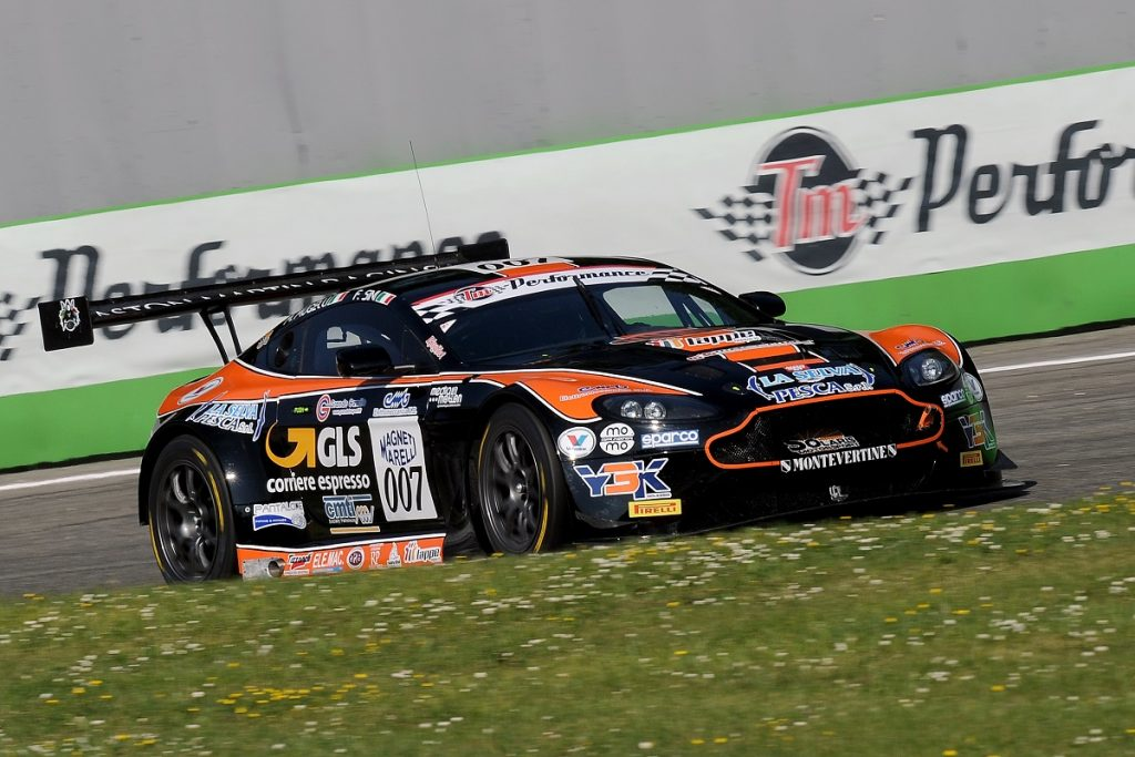 Solaris Motorsport heads to Imola aiming for the first podium with the Aston Martin Vantage GT3