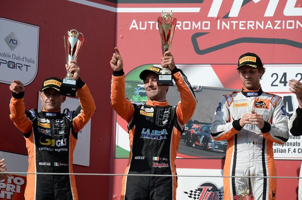 One more podium for Solaris Motorsport in Imola