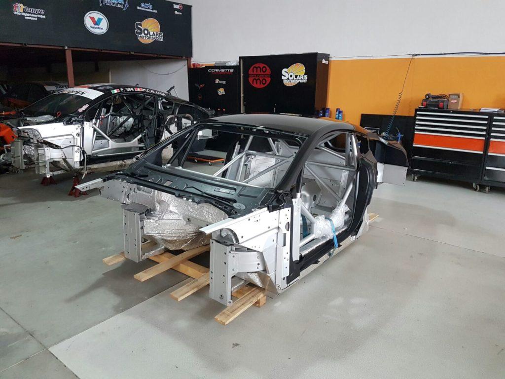 Solaris Motorsport at work to rebuild the Vantage GT3