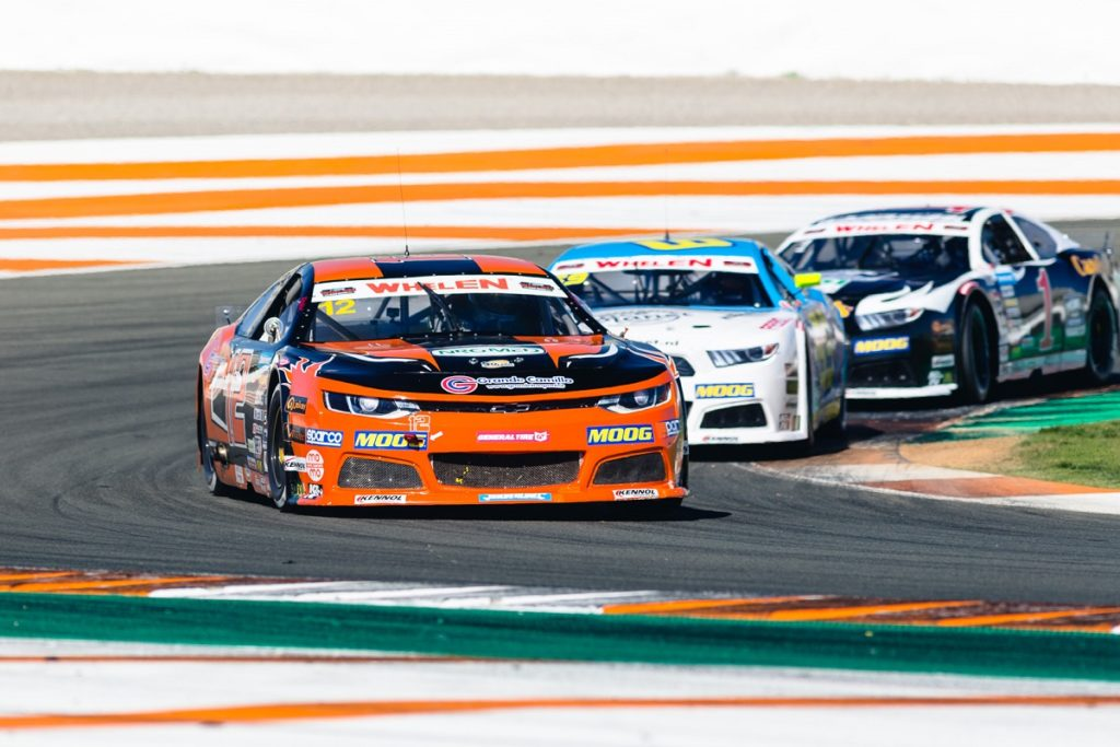 Solid debut for Naveh Talor in EuroNASCAR