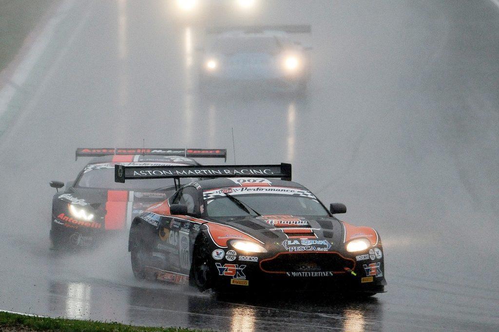 First podium of the season for the Solaris Motorsport Aston Martin Vantage GT3 in Imola